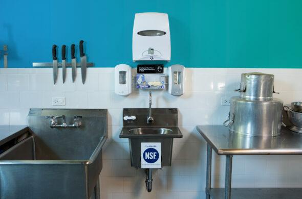 HandwashingforLife® HFL5000 Handwash Station