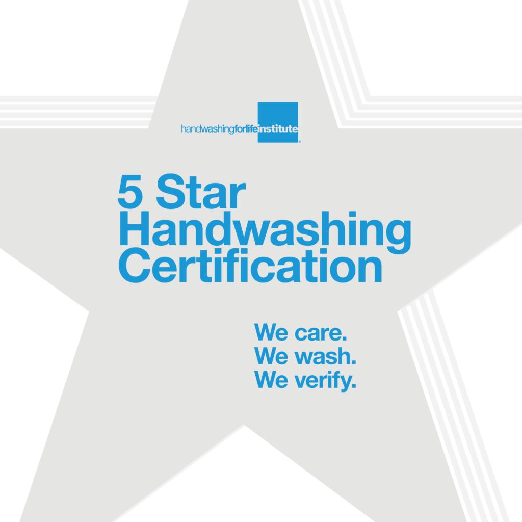 Five Star Hand Hygiene Award